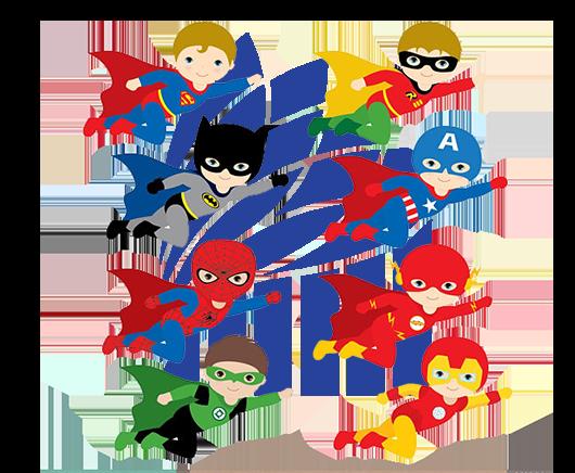 بیشتر شدن علاقه ی کودکان به ابر قهرمانان